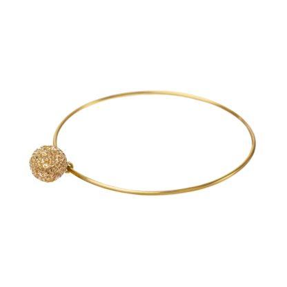 Mosiężna minimalistyczna bransoleta