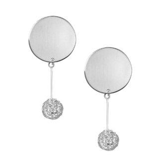 Kolczyki wykonane ze srebra próby 925 kolekcja kołakule
