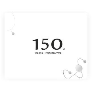 karta upominkowa 150 idealna dla niezdecydowanych osób