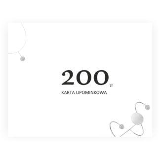 karta upominkowa 200