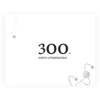 karta upominkowa 300 dla narzeczonej i dziewczyny
