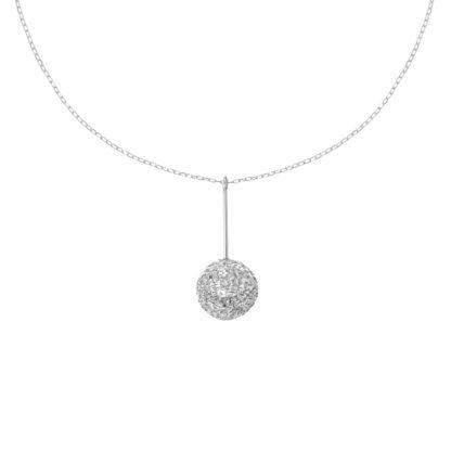 Subtelny, srebrny naszyjnik na prezent dla dziewczyny.
